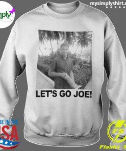 Young Joe Biden Lets Go Joe Shirt Sweater