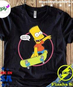 The Simpsons Bart Simpson Eat My Shirt