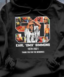 50 Earl Dmx Simmons 1970 2021 Signature Thank You For The Memories Shirt Hoodie