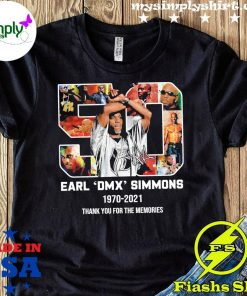 50 Earl Dmx Simmons 1970 2021 Signature Thank You For The Memories Shirt