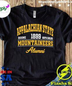 Appalachian state noone 1899 north carolina Mountaineers alumni shirt