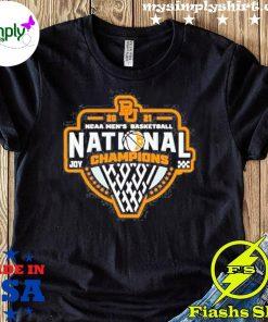 Bu Baylor Bears 2021 Ncaa Men's Basketball Joy Champions Shirt