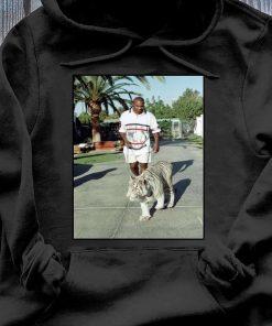 Champion Boxer Walking His Tiger Shirt Hoodie