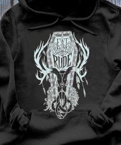 Eat The Rude Hannibal Shirt Hoodie