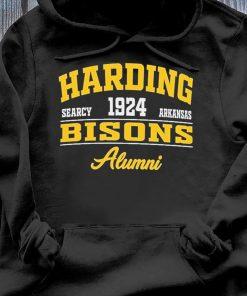 Harding Searcy 1924 Arkansas Bison Alumni Shirt Hoodie