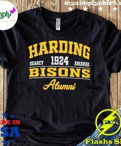 Harding Searcy 1924 Arkansas Bison Alumni Shirt