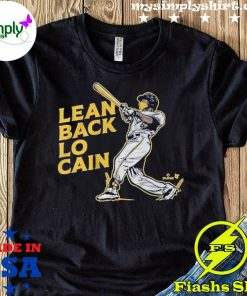 Lean Back To Cain Baseball Shirt