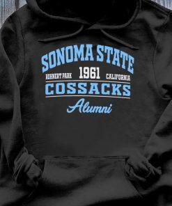 Sonoma State Rohnert Park 1961 California Cossacks Alumni Shirt Hoodie