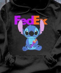 Stitch Hug Fedex Shirt Hoodie