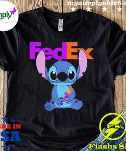 Stitch Hug Fedex Shirt