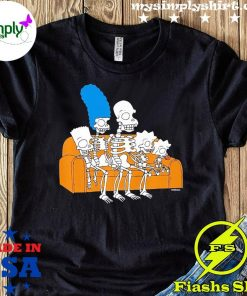 The Simpsons Skeletons Treehouse Of Horror Couch Gag Shirt